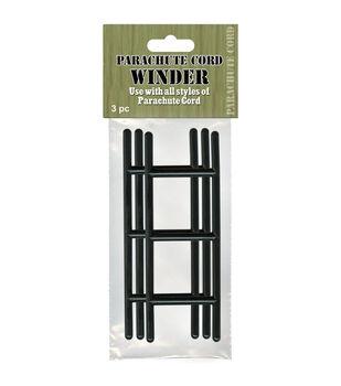 Parachute Cord Winders 3/Pkg