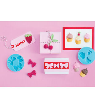 """Silicone Molds 2-1/4""""X1/4"""" 4/Pkg-Sweet Shop"""