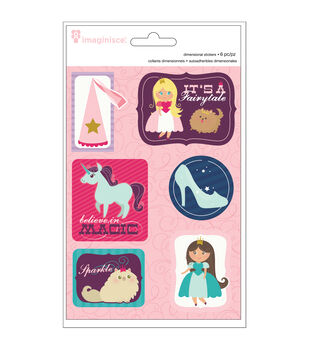 Little Princess Dimensional Sticker Stackers