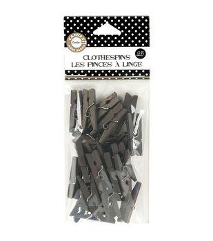 Mini Clothespins 25Pk