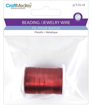 Craft Medley Metallic Beading & Jewelry Wire