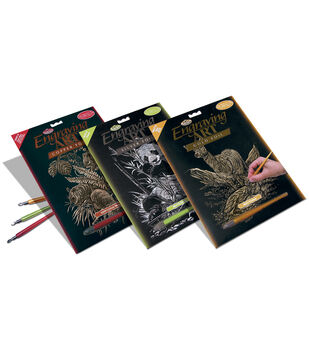 Foil Engraving Art Kits 8''x10''