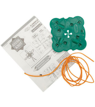 Clover® Asian Knot Templates-Flower Knot