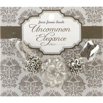 Uncommon Elegance Beads 5/Pkg-Style 5