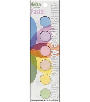 Delta Ceramcoat Paint Pot Sets 6 Colors