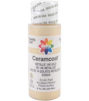 Ceramcoat Gleams Acrylic Paint-2oz