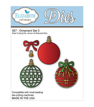 Elizabeth Craft Metal Die-Ornament Set 3