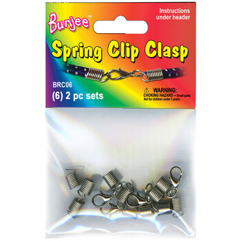 Bungee Spring Clasp 6 Sets/Pkg