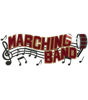Jolee's Boutique Dimensional Title Embellishments-Marching Band