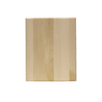 Basswood Plaque-Rectangle