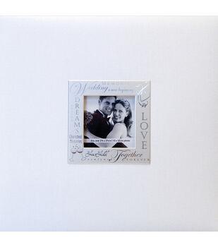 8''x8''Expressions Postbound Album-Wedding