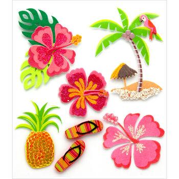 Jolee's Boutique Dimensional Stickers Hawaiian