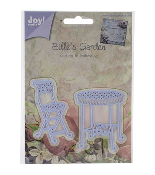 Joy! Crafts Bistro Table & Chair Cut & Emboss Dies