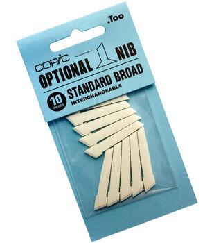 Copic Original Standard Broad Nibs 10/Pk