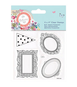 Papermania Bellissima Mini Frames Clear Stamps