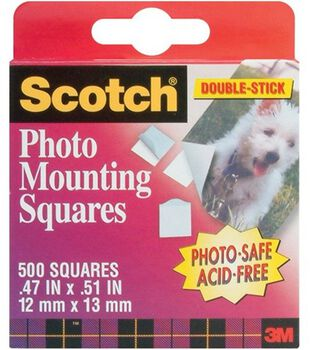 Double Stick Photo Mounting Squares