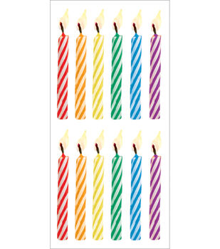 Paper House Stickers-Birthday Candles