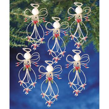 F A Angel -beaded Ornament Kit