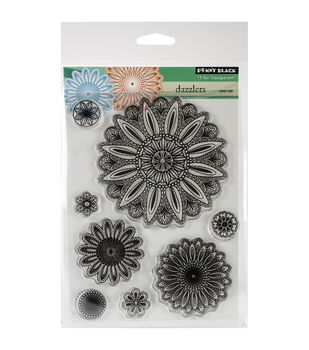 """Penny Black Clear Stamps 5""""X6.5"""" Sheet-Dazzlers"""