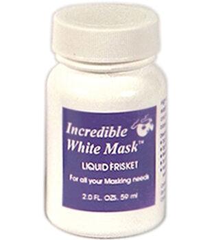 Grafix Incredible White Mask Liquid Frisket-2 Ounces