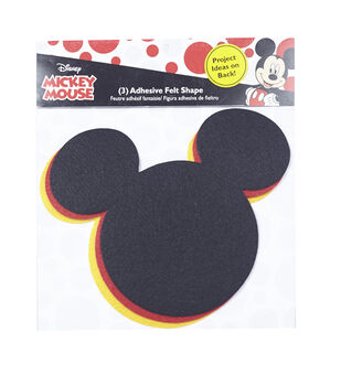 Disney Mickey Mouse Ears Adhesive Felt Pack Large