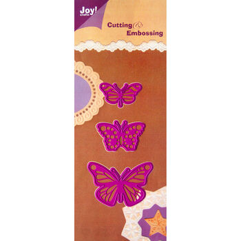 Joy! Crafts Cutting And Embossing Dies Butterflies