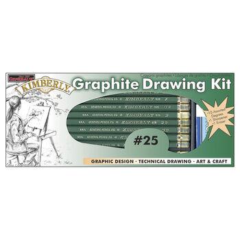 Kimberly Graphite Drawing Kit-12pc