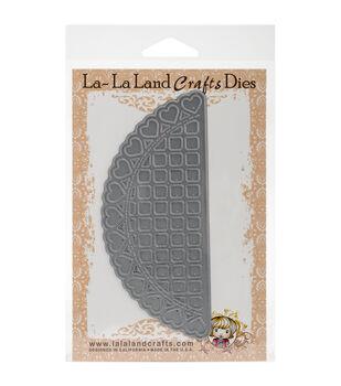 La-La Land Crafts Open Hearts Doily Border Dies