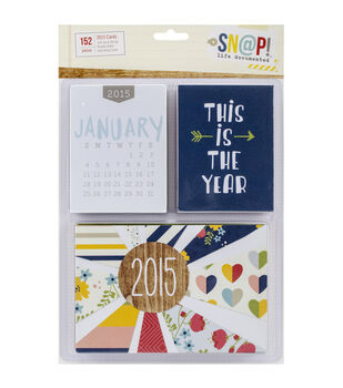 Simple Stories Sn@p! Life Documented 2015 Cards