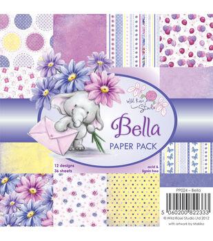 Wild Rose Studio Bella Paper 6''x6''