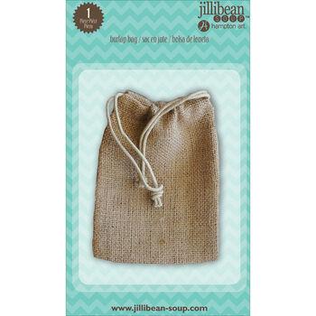 Jillibean Soup Stampables 1/Pkg-Burlap Bag