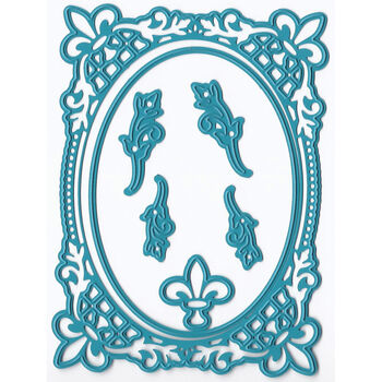 Joy! Crafts Cut & Emboss Dies French Lily Oval