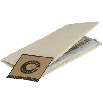 Canvas Corp Canvas Checkbook Cover Natural