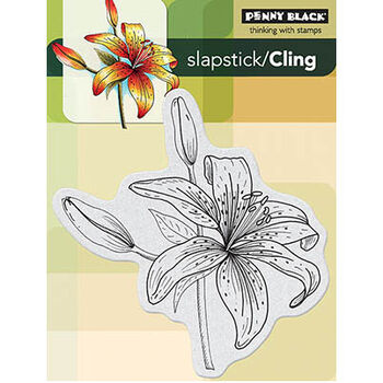 Penny Black Cling Rubber Stamp Sets Tiger-lily