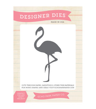 Echo Park Paper Company Flamingo Die