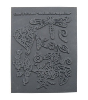 Great Create Christi Friesen Mechanical Organical Texture Stamp