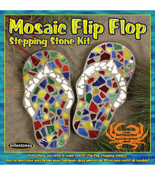 Mosaic Flip Flop Stone Kit