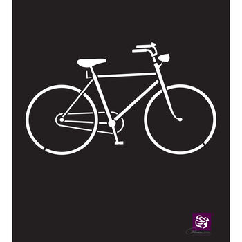 Prima Marketing Designer Stencil Bicycle