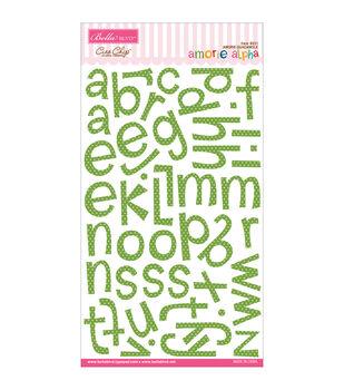 Bella Blvd Amoire Chipboard Alphabet