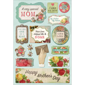 Karen Foster Cardstock Stickers A Very Special Mom