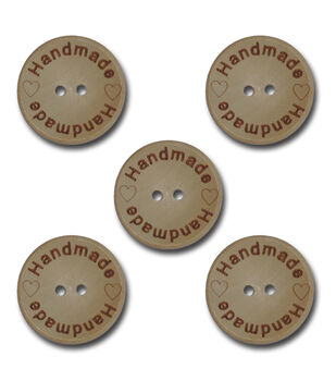 Maya Road Handmade Wooden Buttons