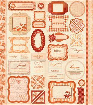Paper Reverie Sienne Ephemera Stickers