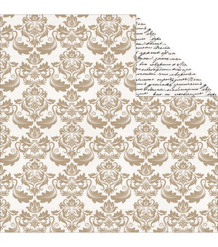 """Save The Date Double-Sided Cardstock 12""""X12""""-Gala"""