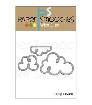 Paper Smooches Curly Clouds Dies