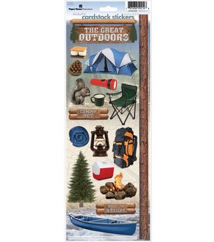The Paper House Stickers-Camping