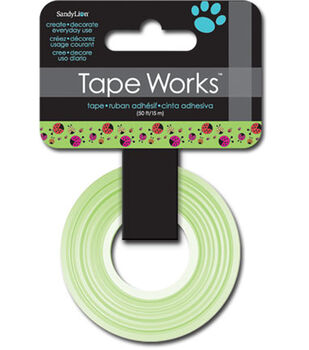 "Tape Works Tape .625""X50'-Ladybugs"