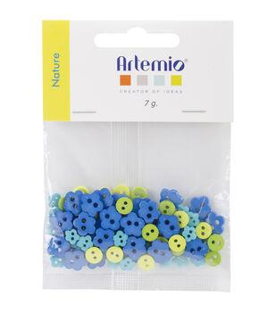 Artemio Nature Mini Shaped Buttons