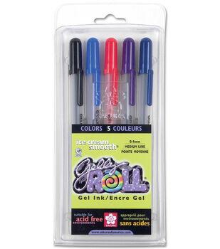 Sakura Gelly Roll Medium Point Pen Set-5PK