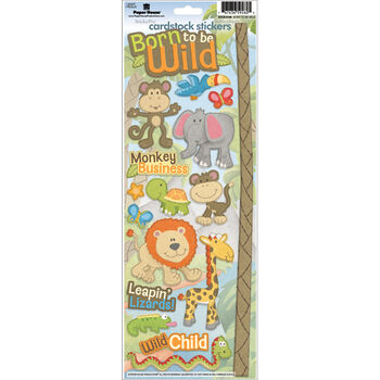 Paper House Born To Be Wild Cardstock Stickers