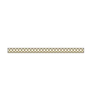 Little B Foil Tape 3mmX20m-Gold Honeycomb